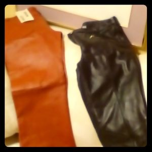 Wilsons leather pants two pair
